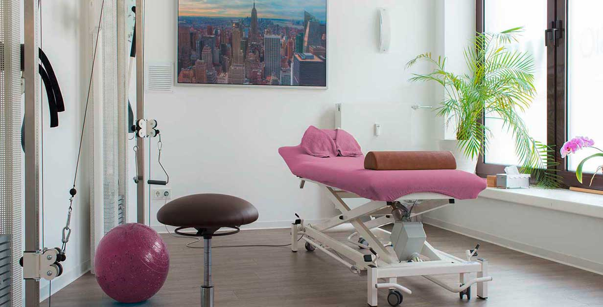 Physio W51 Physiotherapie Rehabilitation Prävention Behandlungsraum